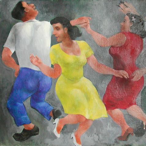 Dancing Girls, c. 1940