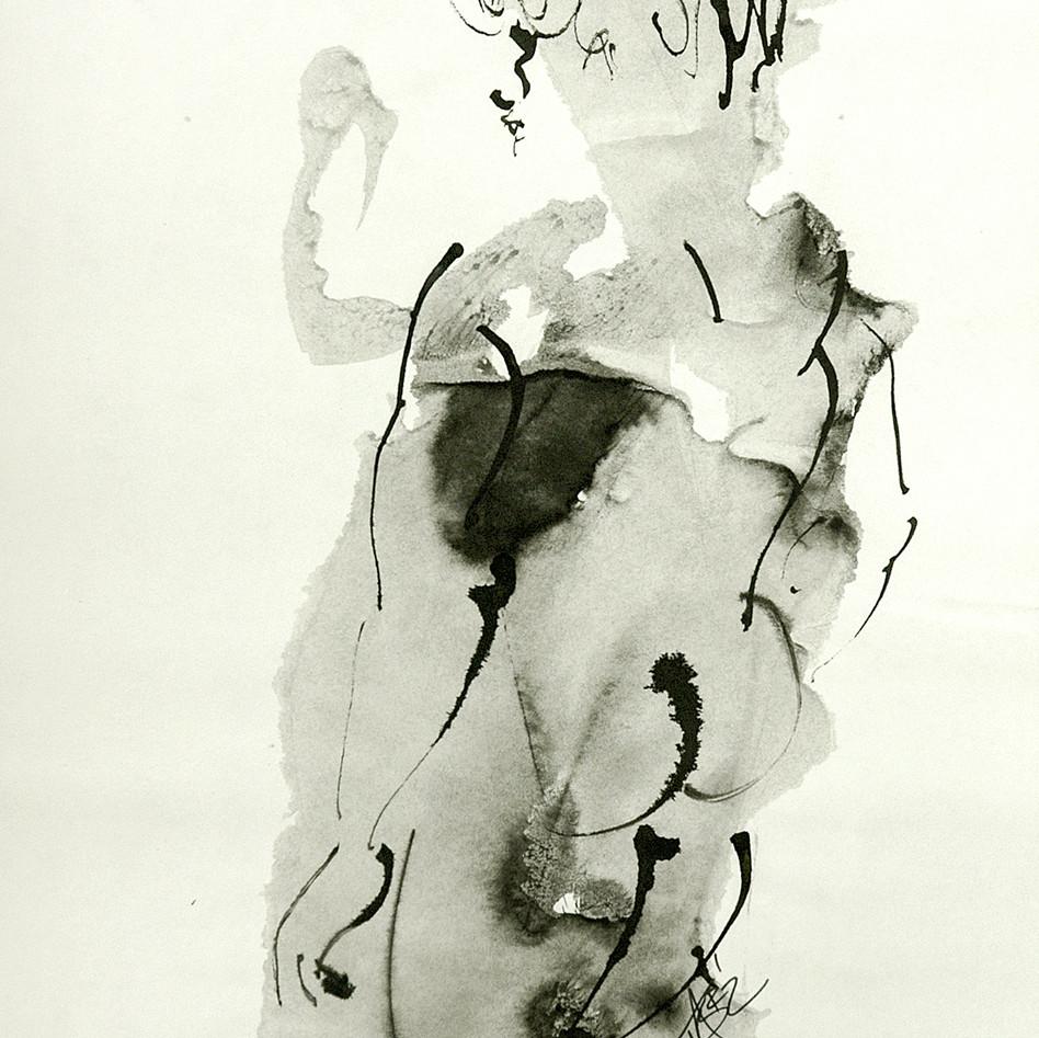 Nude Drawing No. 21