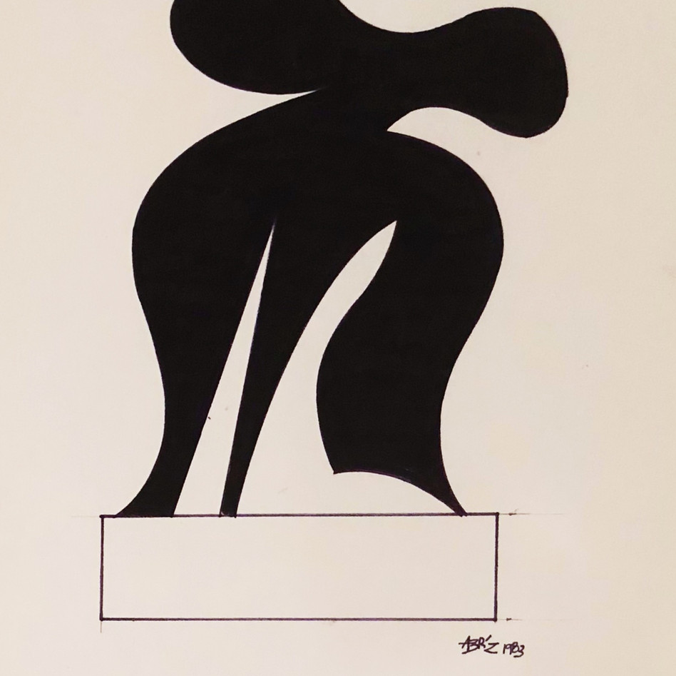 Sculpture Drawing No. 7