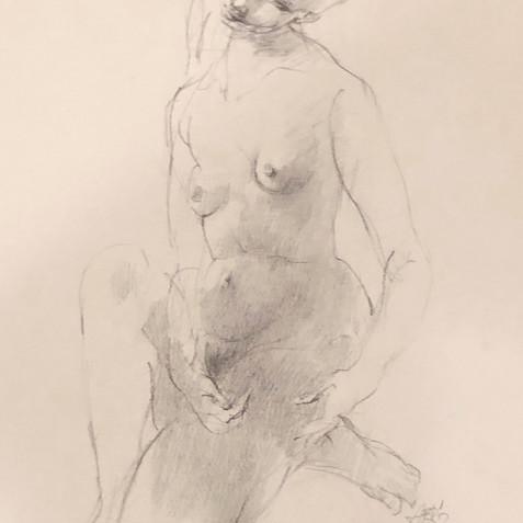Nude Drawing No. 14