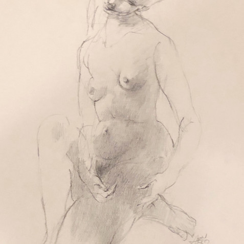 Nude Drawing No. 14