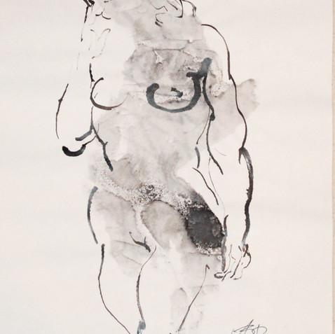 Nude Drawing No. 9