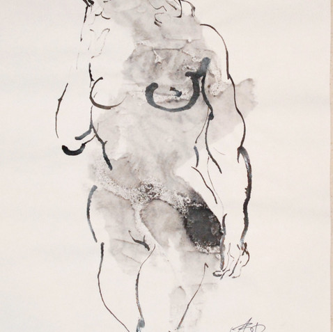Nude Drawing No. 9