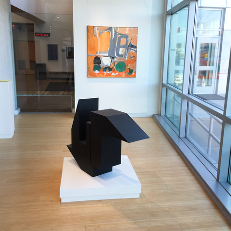 King Street Gallery, Montgomery College installation, 2016
