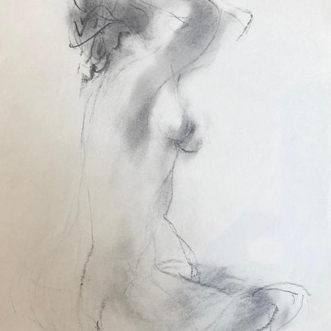 Nude Drawing No. 23