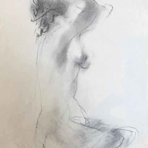 Nude Drawing No. 23