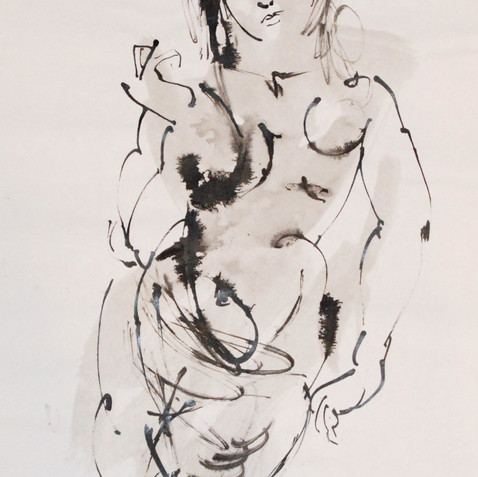 Nude Drawing No. 7