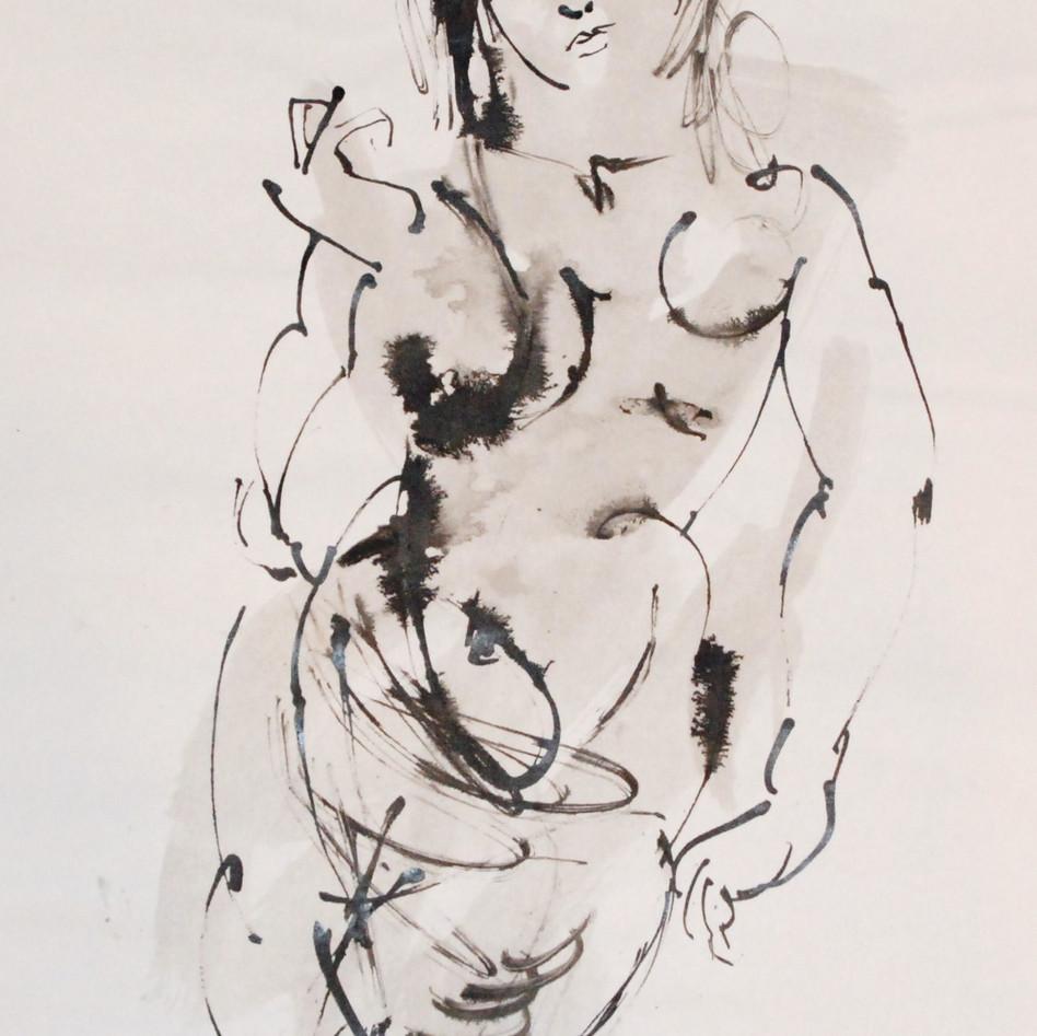 Nude Drawing No. 7