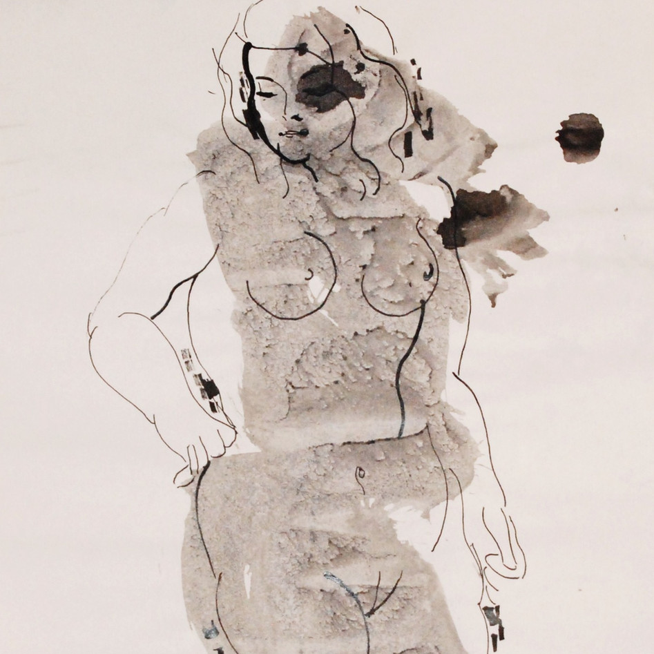 Nude Drawing No. 18
