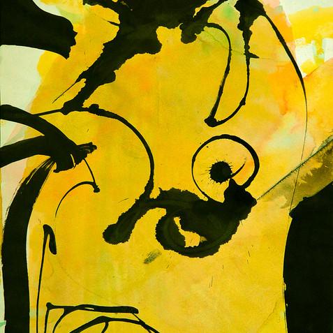 Yellow Nude Fantasy