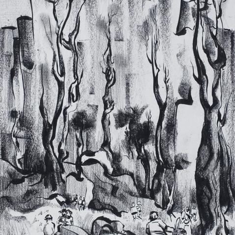 Palisades, c. 1939