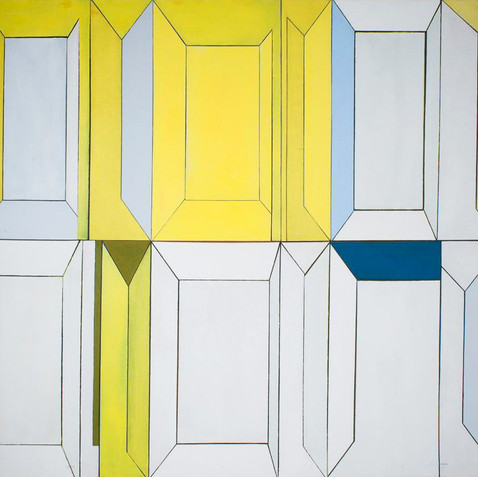 Yellow Rectilinear, c. 1965