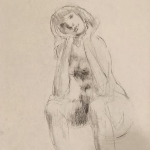 Nude Drawing No. 17