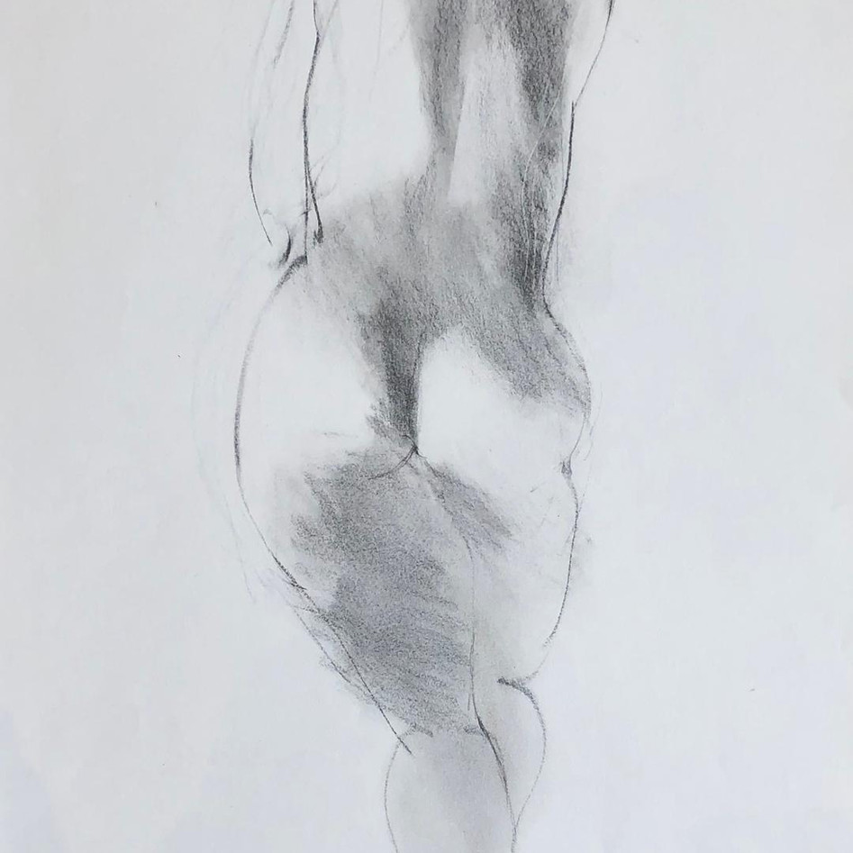Nude Drawing No. 22
