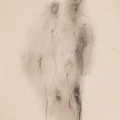 Nude Drawing No. 10