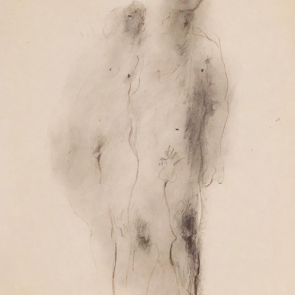 Nude Drawing No. 10