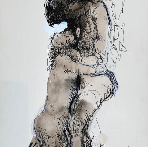 Nude Drawing No. 25