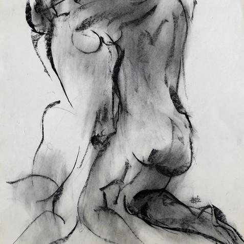 Nude Drawing No. 24