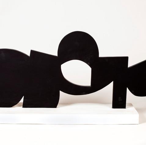 Circle and Blocks, ca. 1984