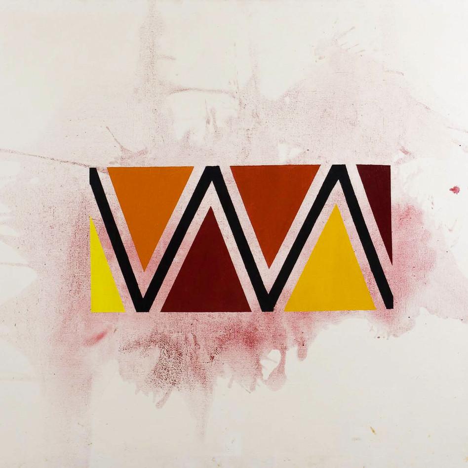Color Field Triangle, c. 1960