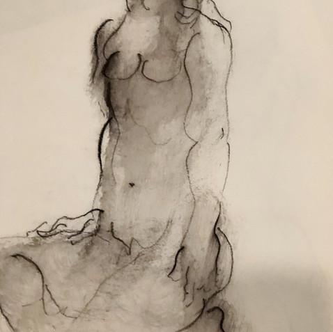 Nude Drawing No. 15
