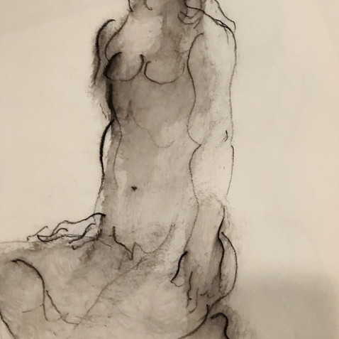 Nude Drawing No. 15