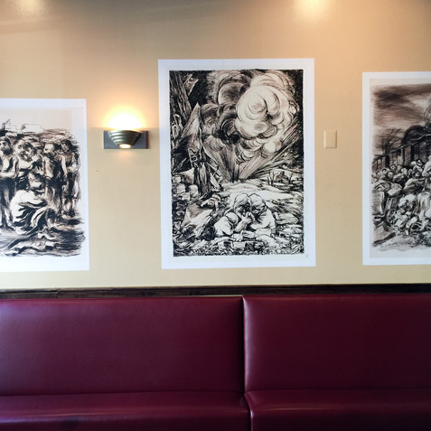 Busboys and Poets installation, D.C., 2016