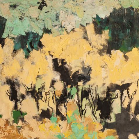 Yellow Trees, c. 1960