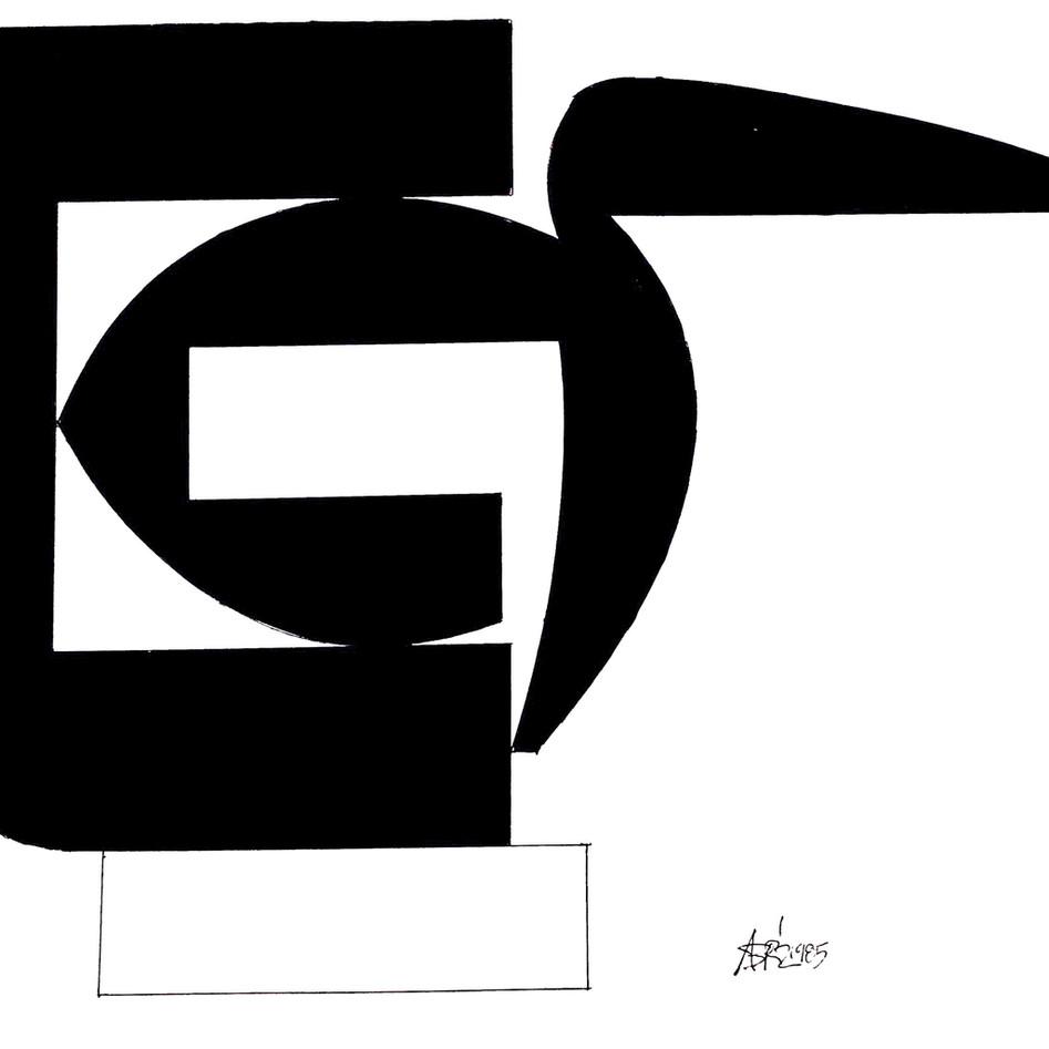 Sculpture Drawing No. 10