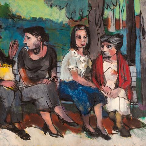 Park Bench, c. 1940