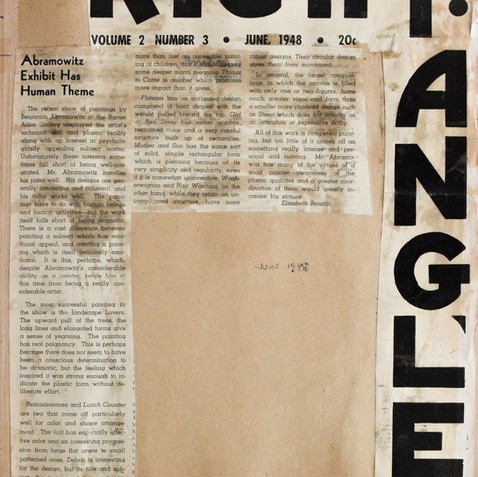 Review of the Barnett Aden solo exhibition, 1948