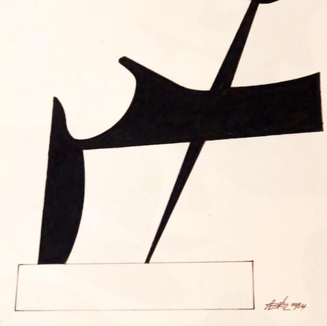 Sculpture Drawing No. 11