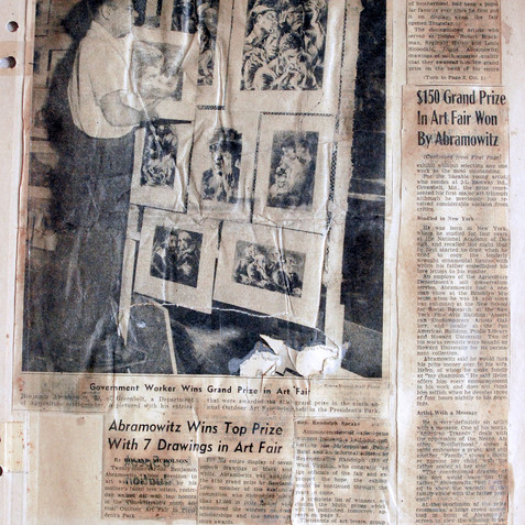Grand prize, The Washington Times Herald Art Fair, 1946