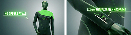 deap canyoning wetsuit