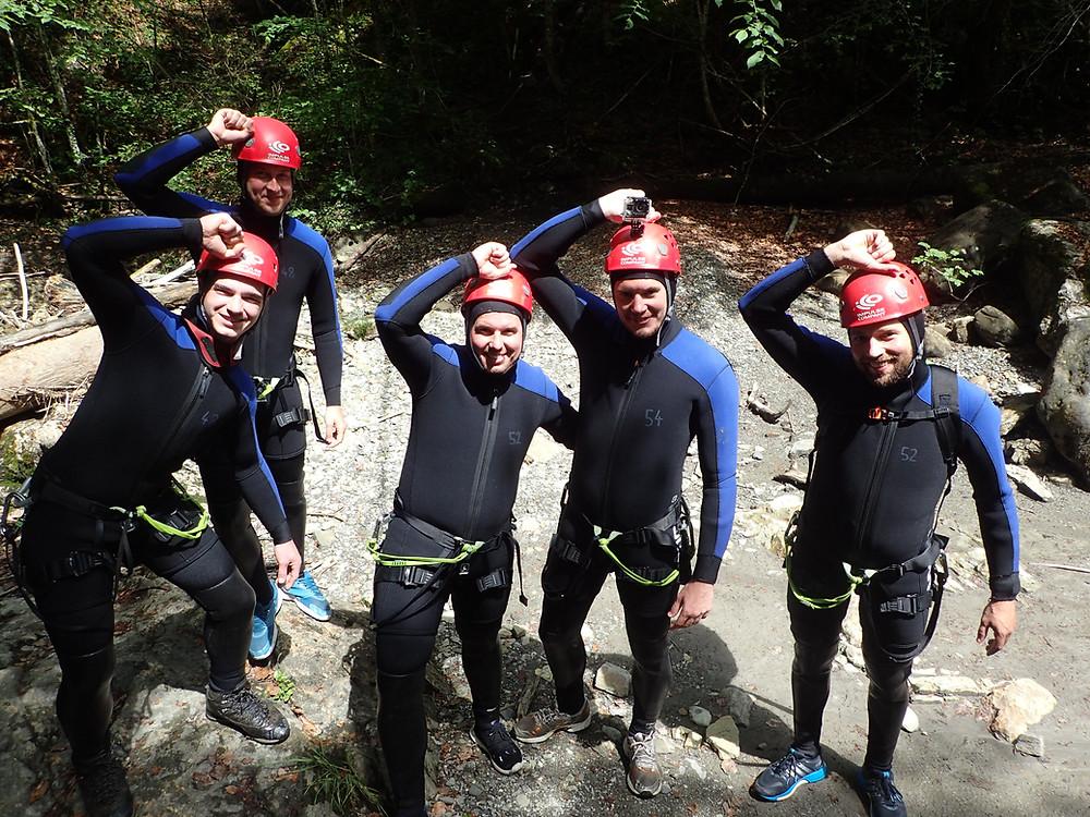 Canyoning im Allgäu - Erfahrungsberichte
