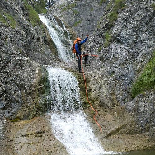 Canyoning in der Nähe von München