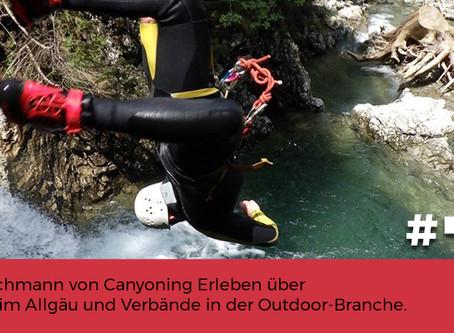 Podcast Canyoning im Allgäu
