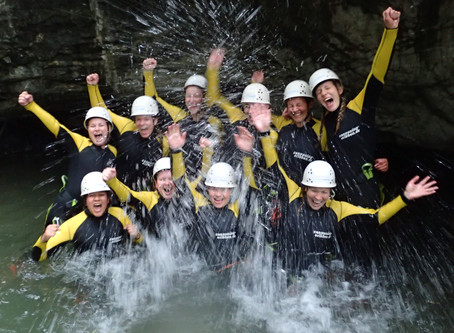 Junggesellenabschied mal anders! - Canyoning im Allgäu