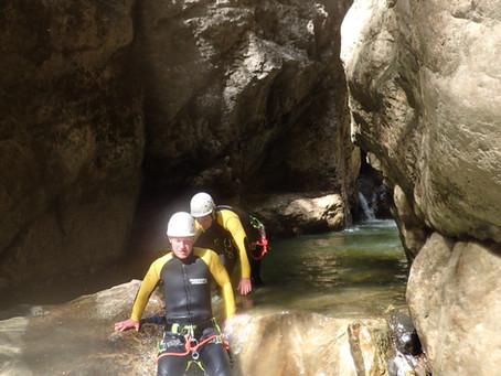 Canyoning Allgäu - der Freizeitspaß im Allgäu
