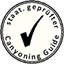 staatl. geprüfter Canyoning Allgäu Guide