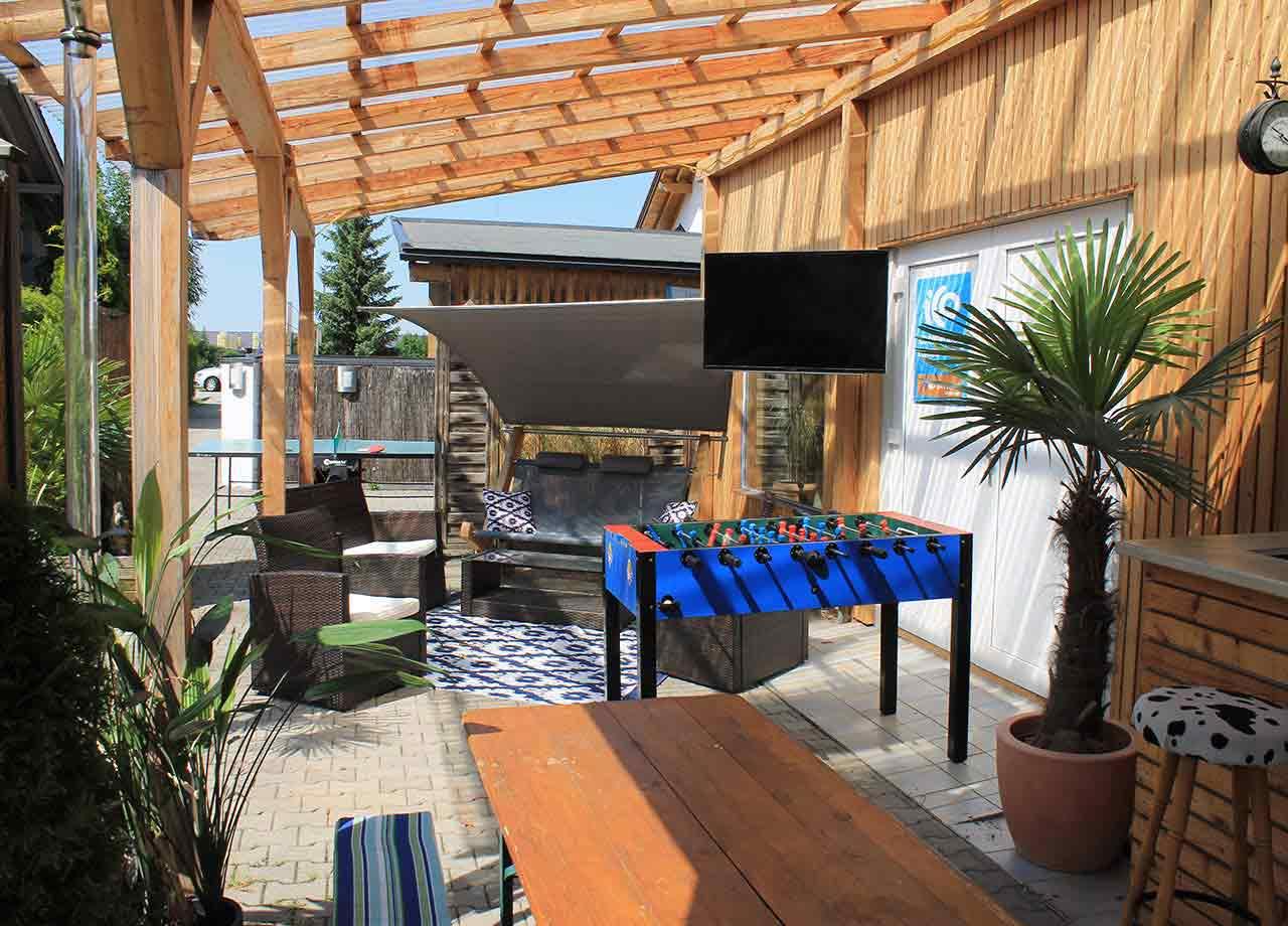 Bar mit Chill Lounge