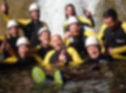 Canyoning Junggesellen Abschied Allgäu