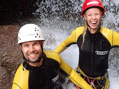 Erfahrungsbericht - Adrenalin in der Starzlachklamm mit canyoning-erleben.de