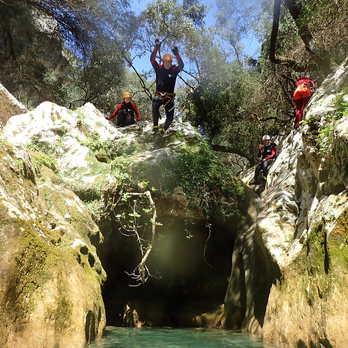 Canyoning Camp auf Mallorca