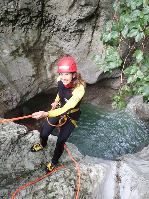Canyoning Erlebnis Allgäu