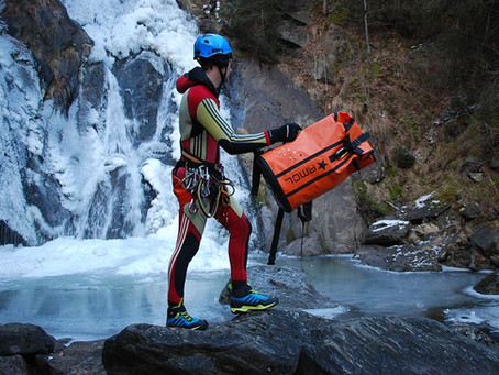 Neuer Canyoning Rucksack von AMOL