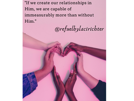 Relationships in Him