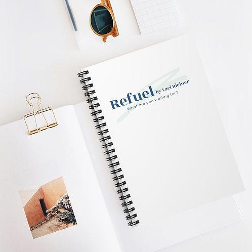 Refuel Journal Notebook - Ruled Line