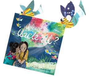 Birds with Book Cover - Where is Uncle A