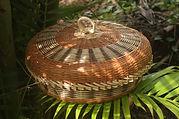 Basket weaving.